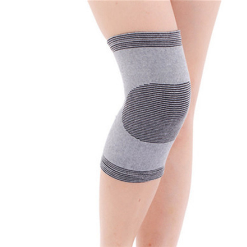 Pair Of Ladies/' Thermal Knee Warmers Eases Aches And Pains Flexible Elasticated