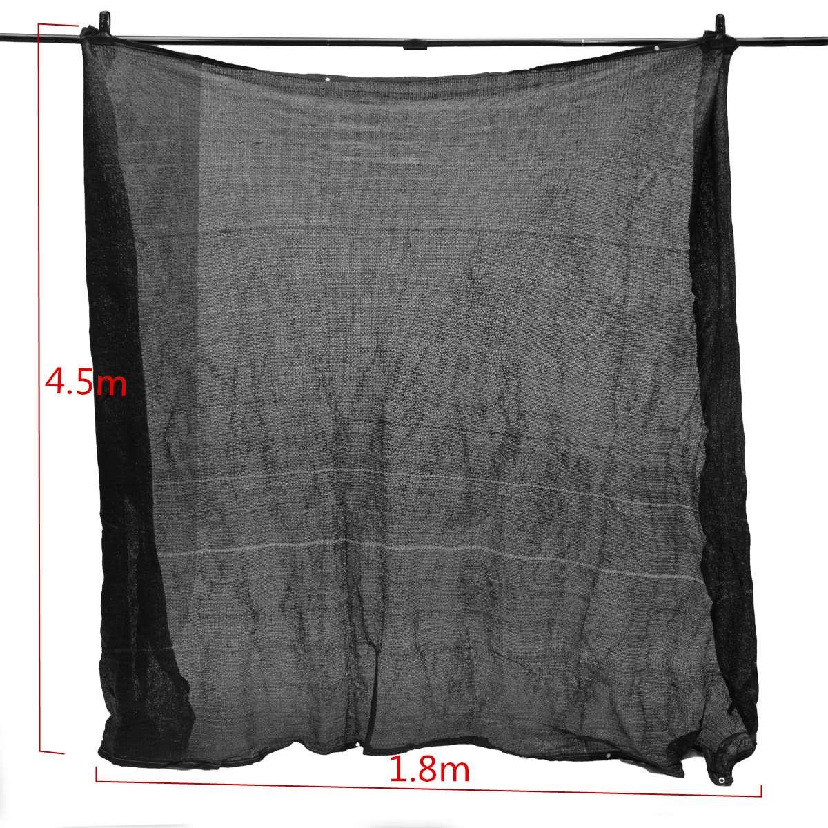 pao de la cortina de proteccin solar al aire libre negro rollo uv toldo sombra neta