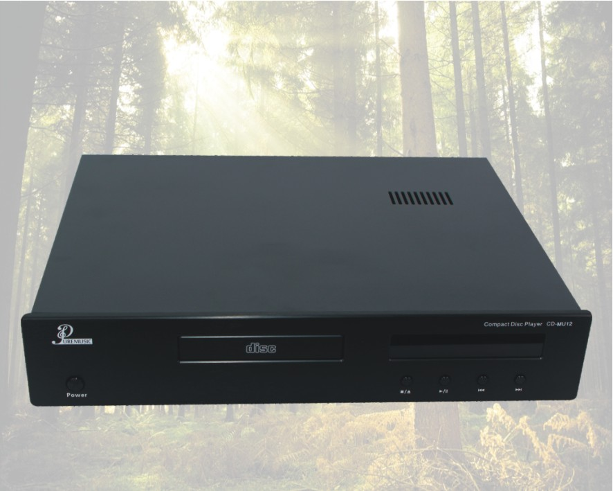 Reproductor de CD de música pura CD-MU12 profesional fever reproductor de CD HIFICD machine CD/reproductor de disco compacto USB