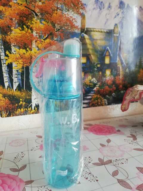 PURANKA My Xmas Gift Water Bottle Tritan Plastic with nozzle For Tour Outdoor sports 400ML 600ML Drinkware BPA Free 2017 new-in Water Bottles from Home & Garden on AliExpress