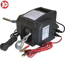 Kalibr ELB-1130 автомобиль/Внедорожный Водонепроницаемый Электрический лебедочный трос веревка/нейлоновая веревка дополнительно подходит для модифицированного тяги автомобиля