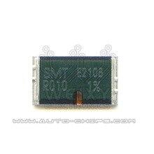 SMT R010 Высокоточный сплав Силовые резисторы для автомобилей ECU
