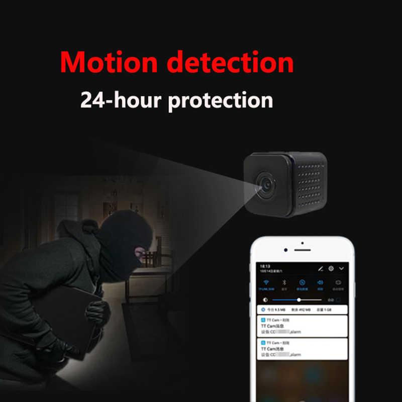 ที่มองไม่เห็น Night รุ่น Wifi IP IP ไร้สาย 1080 P สำหรับสนับสนุนการบันทึกวิดีโอรีโมทคอนโทรลเครื่องบันทึกวิดีโอแบบพกพา pk q7