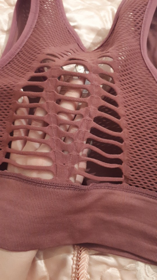 Seamless Breathable Sports Bra photo review