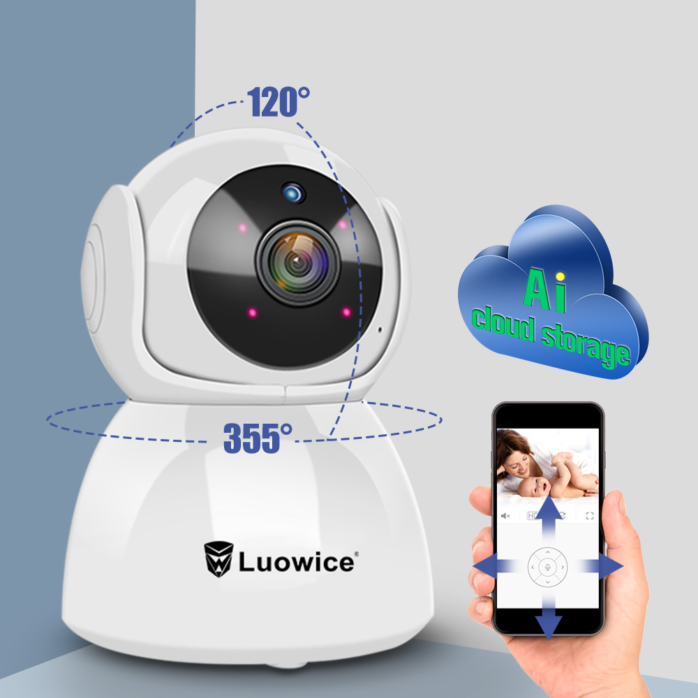 HD 1080P H.265  Home Security Ip Camera Wi-Fi Wireless Surveillance Camera Wifi night  Vision Two Way Audio function  cameraHD 1080P H.265  Home Security Ip Camera Wi-Fi Wireless Surveillance Camera Wifi night  Vision Two Way Audio function  camera