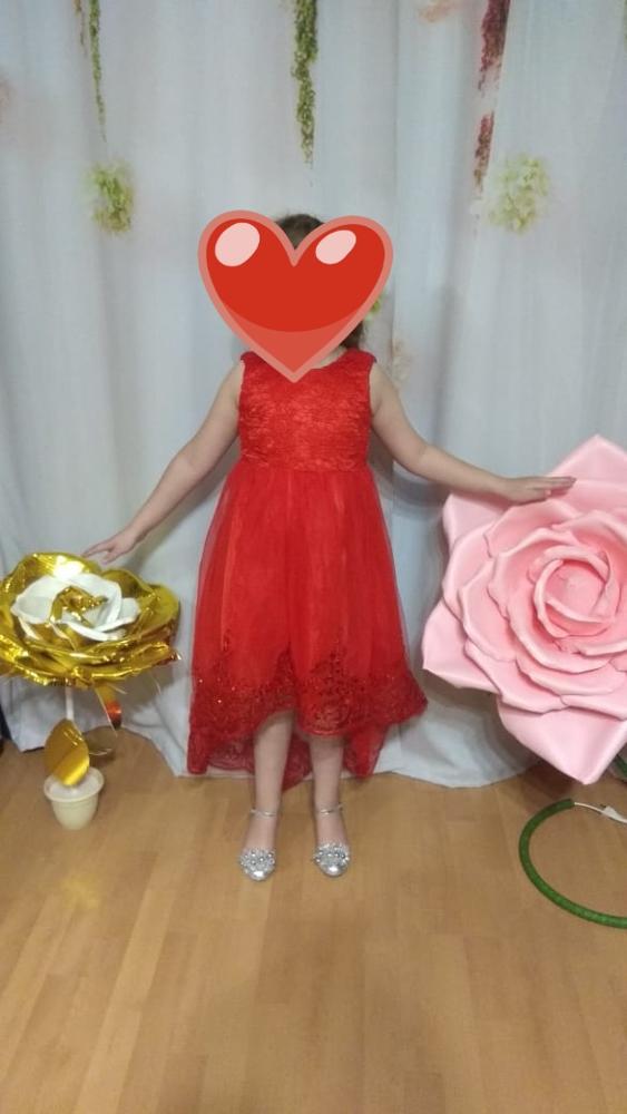 High Quality Lace vestido Girls Sleeveless Princess Children flower girl dress For Wedding 2-12 Years Girls Trailing Party Prom