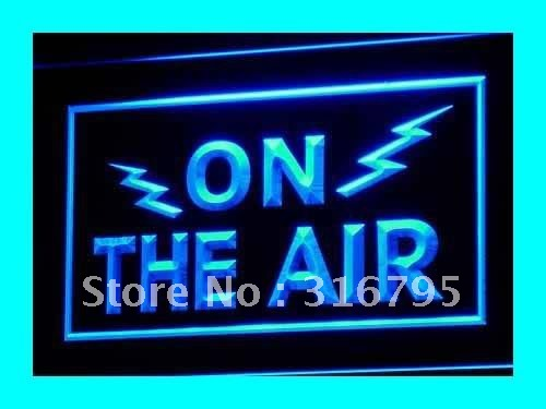 i066 ON THE AIR Radio Recording Studio Light Signs On Off Switch 7 Colors 4 Sizes