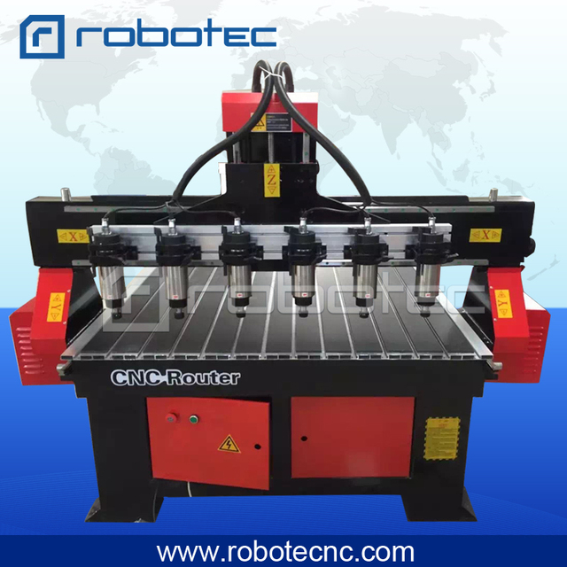 Multi Spindle Cnc Router automatic tool changer wood cnc router 1325