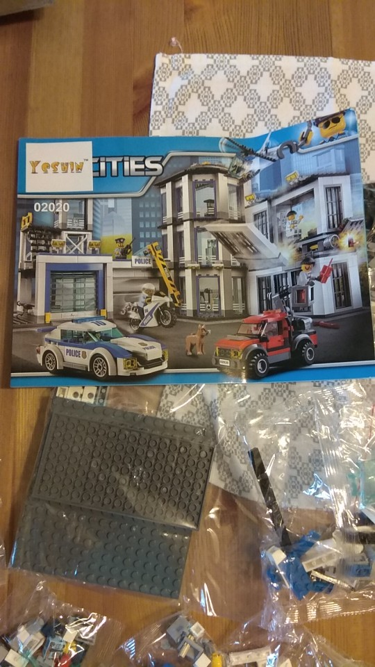 LEPIN 02020 Police Station Block Set (965Pcs) photo review