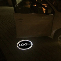 Jingxiangfeng 2 шт. чехол для Ssang Yong для Volvo двери автомобиля Добро пожаловать Свет автомобиля светодиодный лазерный логотип Призрак Тень Свет пред...