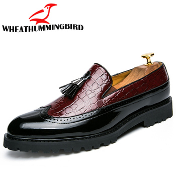 2019 Men Casual shoes breathable Leather Loafers Office Shoes For Men Driving Moccasins Comfortable Slip on Fashion Shoes MA-23 2