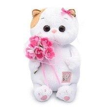 Мягкая игрушка Budi Basa Кошечка Ли-Ли Baby с букетом, 20 см