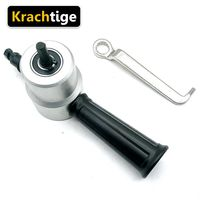 Krachtige Nibble Metal Cutting Double Head Sheet Nibbler Hole Saw Cutter Drill Tool Tackle Car Repair