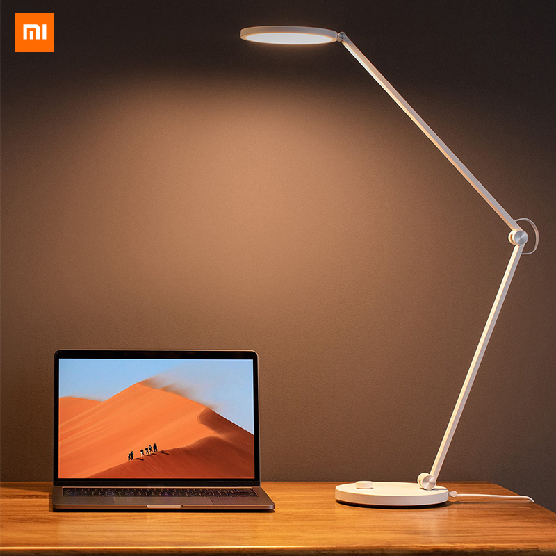 Original Xiaomi Mijia Professional Eye-Protection LED Desk Table Lamp Pro Desktop Stereo Illumination for Home Office Study UseOriginal Xiaomi Mijia Professional Eye-Protection LED Desk Table Lamp Pro Desktop Stereo Illumination for Home Office Study Use