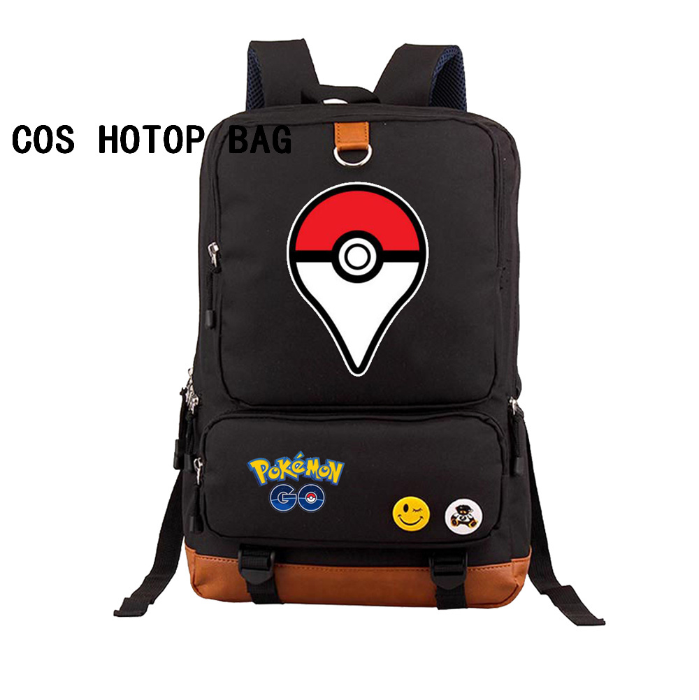 Anime Pokemon Pocket Monster backpack Eevee Pikachu Gengar Charmander Emoji Printing Canvas School Bags Backpack 32 styleAnime Pokemon Pocket Monster backpack Eevee Pikachu Gengar Charmander Emoji Printing Canvas School Bags Backpack 32 style