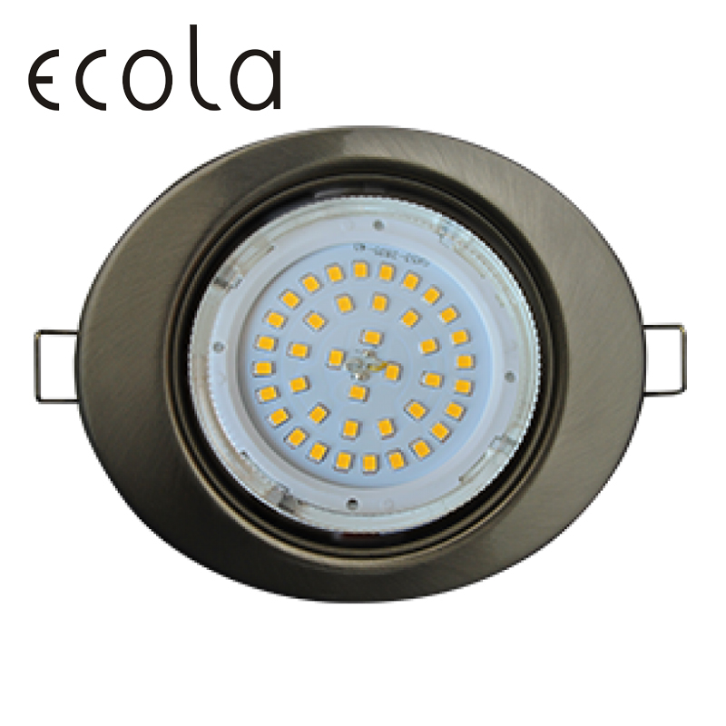 Ecola GX53 H4 FT3238 recessed Ceiling Downlight Ellipse Spotlight Hole Spot lamp GX53 Sockets without reflector 41x126x106 цена