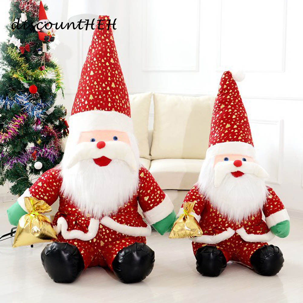Christmas Present Dolls Santa Claus Plush Christmas Dolls Christmas Ornament  Merry Xmas Creative Gifts Toy(