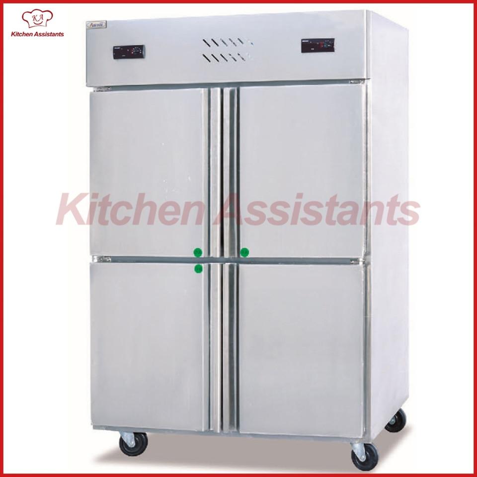 GD4 4 door commercial Kitchen Refrigerator and Freezer Machine-in ...