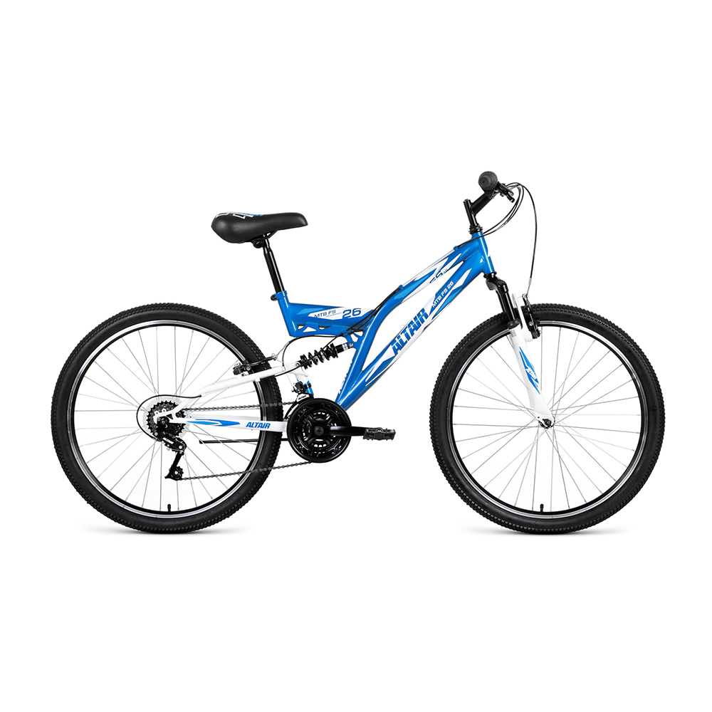 Bicycle ALTAIR MTB FS 26 1.0 (26 18 IC. Height 18 ) 2018-2019