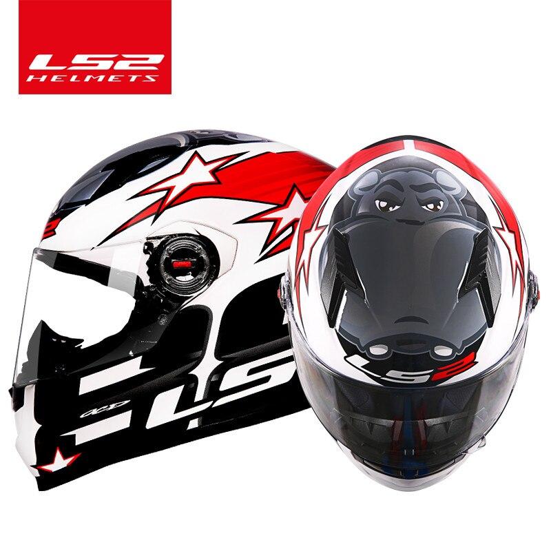 LS2 FF358 casque moto rcycle intégral ls2 moto cross racing homme femme casco moto casque LS2 ECE approuvé