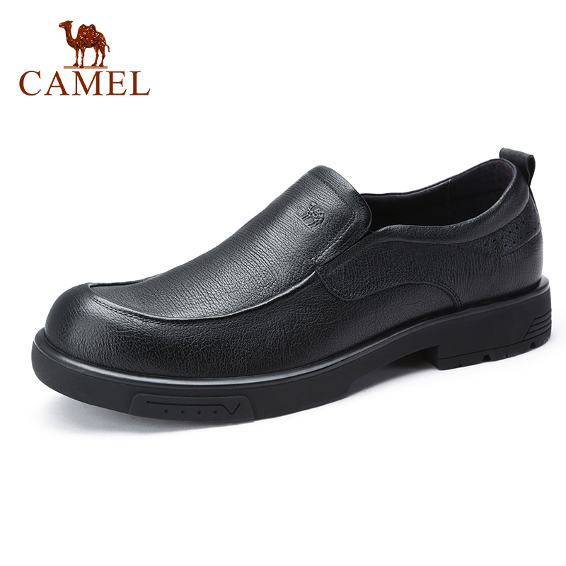 CAMEL New Daily Men Shoes Genuine Leather Business Men s Loafers Flexible Cowhide Shoes Man Non