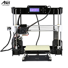 Anet A8 3D diy Printer Kit High Precision Desktop 3D Printer Kit i3 Self Assembly FDM 3d Printer with MK8 Extruder Nozzle autoleveling he3d k200 delta 3d printer kit diy printer single nozzle extruder support multi material