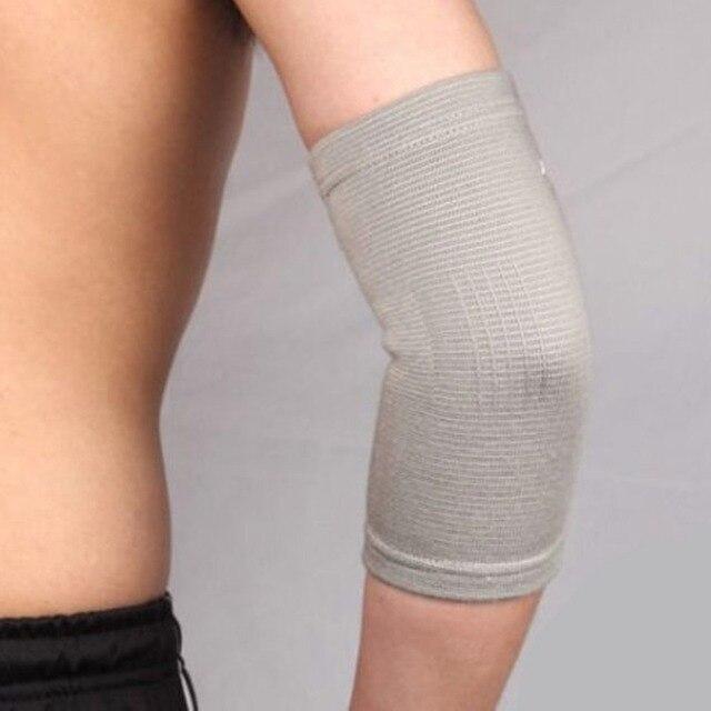 Повязка на локоть с шерстью мериноса №3 (m) 20-23, согревающий эффект, EcoSapiens