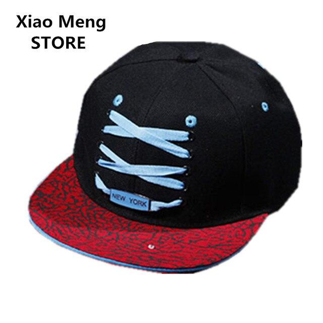 dbfa717c3a7 2017 Fashion New York New Style Hip Hop Baseball Caps Shoe Laces Snapback  Hats For Men Women Outdoor Sports Casual Sun Cap M99