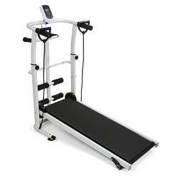 Treadmill Foldable Manual  Running Training Sports Multifunctional Mute Fitness  Equipment 3 In1 Twisting Waist Machine