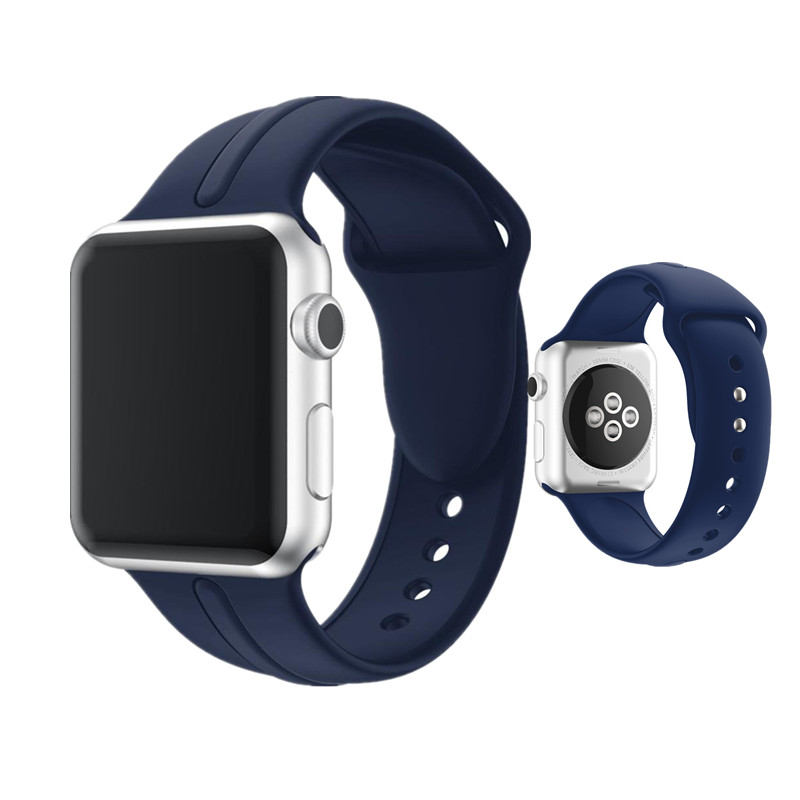 ASHEI New Bracelet Strap for Apple Watch Sport Band Soft Silicone 42mm Watchband 38mm Straps for iWatch Series 3 2 1 Watchbelt jansin 22mm watchband for garmin fenix 5 easy fit silicone replacement band sports silicone wristband for forerunner 935 gps