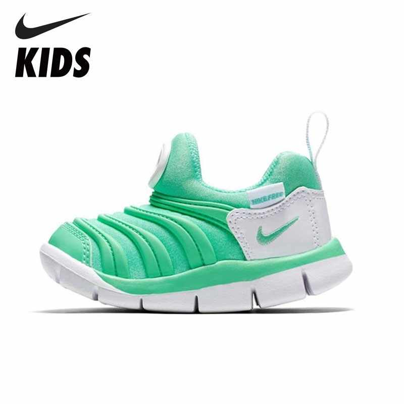 NIKE  Kids DYNAMO FREE New Arrival Boys And Girls Non Slippery Kid's Sneakers Comfortable Anti-slippery Running Shoes 343938