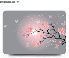 For Apple Macbook Pro 15 Touch Bar A1707 Case, Color printing Laptop shell Case For MacBook Air 11.6 13.3 Pro 13 15.4 inch