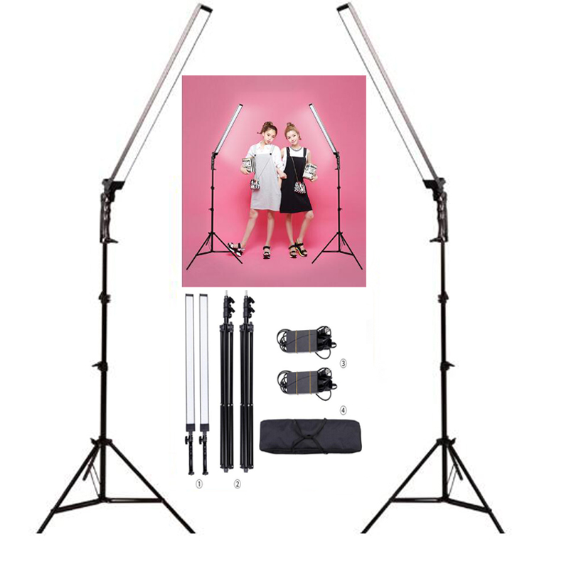 5500K 30W LED Photography Lighting kit, Photo Studio Photo led Light Kit ,Camera & Photo Accessories Photographic Equipment fs14 2 gm