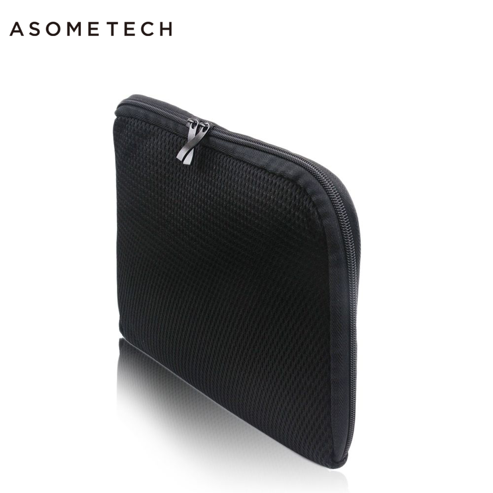 Hight Quality Mesh Zipper Sleeve For Ipad Pro 12.9 2017 Case Cover Black Waterproof Bag For Samsung Galaxy Lenovo Tab 12-13 inch high quality 10 25 4cm colorful hard netbook laptop sleeve case bag for ipad 2 3 4 5 6 sleeve bag