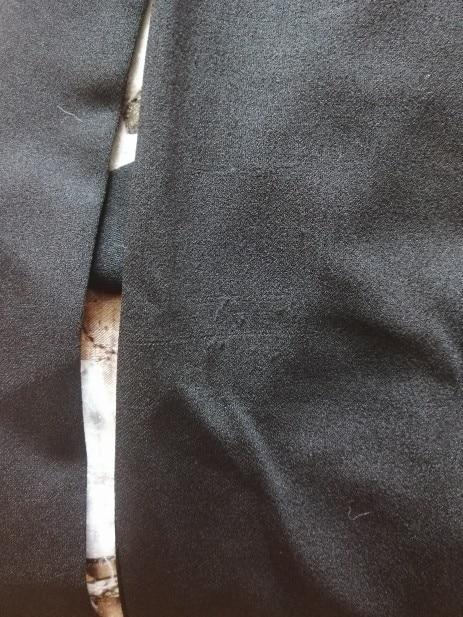 Women Plus Size Elegant Black Pencil Dress With Applique Mesh Lantern Sleeve High Street Belted Slim Fit Party Dresses photo review