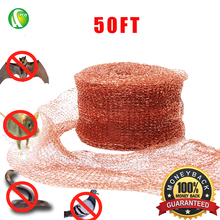 PCO Copper Mesh For Mouse Rat Rodent Control ,100%Copper,15 Meters (50ft)