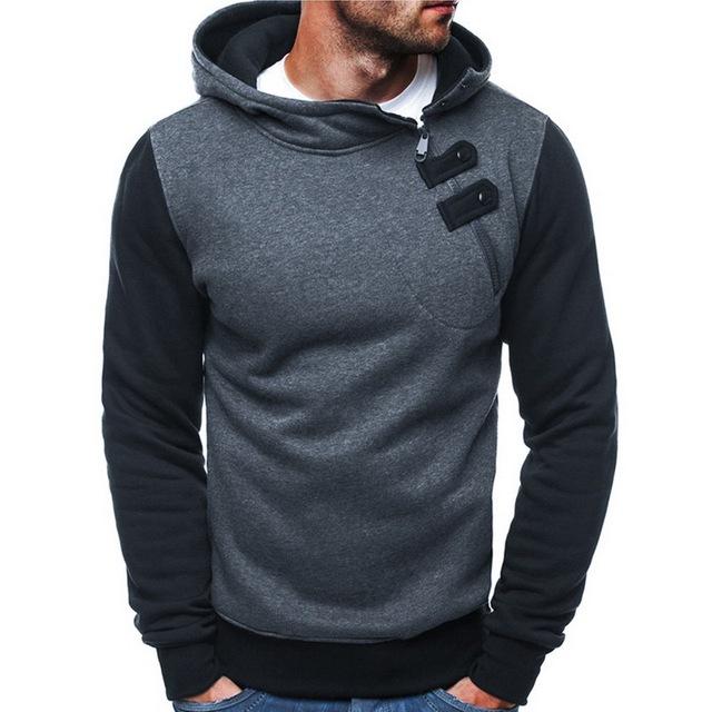 Laamei 2019 Spring Brand Sweatshirt Men Hoodies Harajuku Solid Hoodie Hip Hop Streetwear Pullover Men Casual Tracksuit Masculino