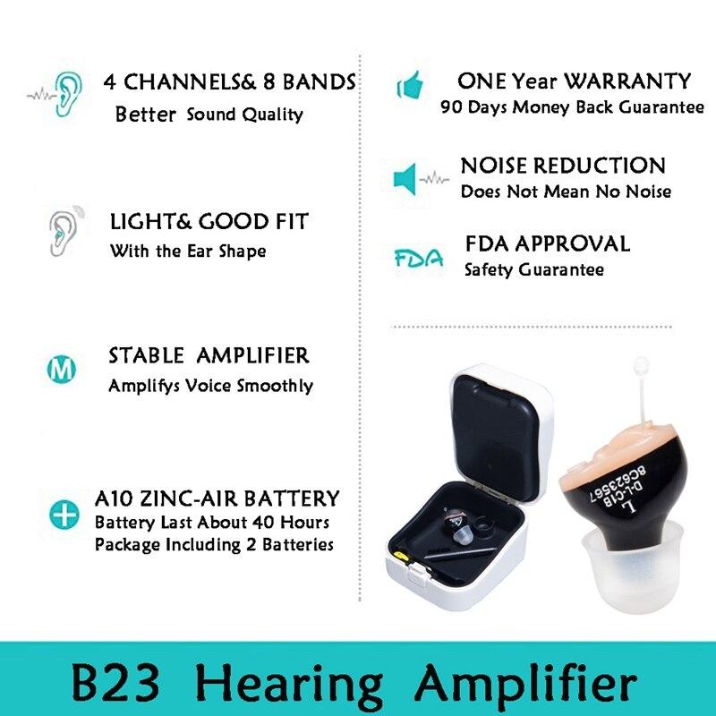 auditivo mini amplificador de som tuneable na