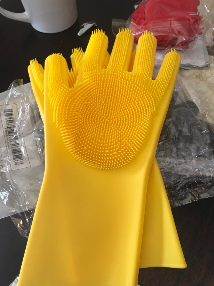 Eshoply™ Kitchen Silicone Cleaning Gloves photo review