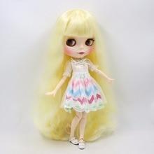 Neo Blythe Doll Colorful Lace Skirt Dress