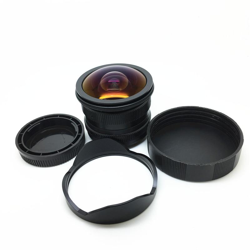 Per sony E EOSM per Olympus Panasonic Fujifilm FX camera 7.5mm f2.8 obiettivo fisheye 180 gradi Angolo Si Applicano a tutti singola serie