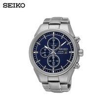 Наручные часы Seiko SSC365P1 мужские с кварцевым хронографом на браслете