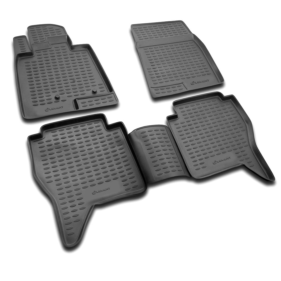 цены на Floor mats for Mitsubishi Pajero -4 V80 2006-2018 (Element NLC3516210)  в интернет-магазинах