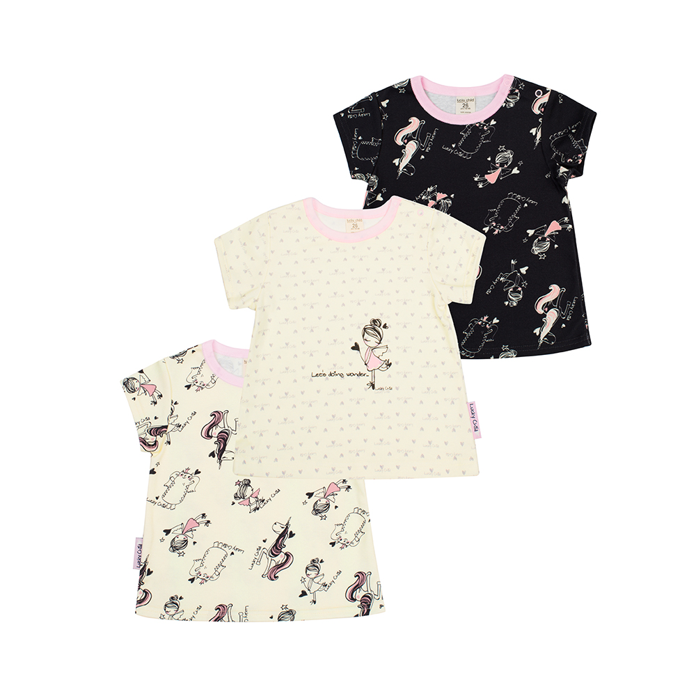 T Shirts Lucky Child for girls 30-198 Tops Baby clothing T Shirt Children clothes Kids Top clothing set camouflage clothes boys outwear baby sets short t shirt pants 2 pcs set clothes kids suit 5 13years free shipping
