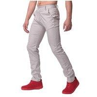 Haute Qualité Automne Hommes D'affaires Décontractée Travail Pantalon Doux Coton Mince chinos Pantalon Droite Régulière Costumes Pantalon Grande Taille 44
