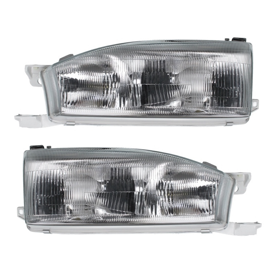 Headlights Set Fits Toyota Camry Scepter 1992 1993 1994 1995 Headlamp Left Right Pair In Car Light Embly From Automobiles Motorcycles On
