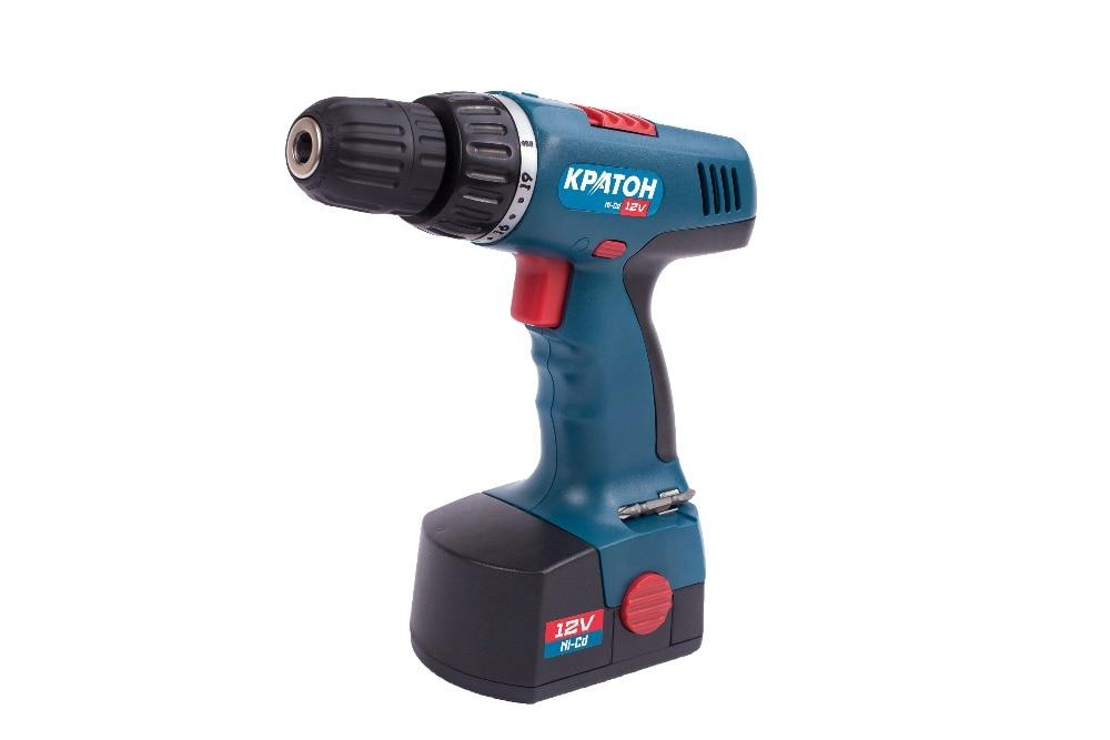 Cordless Drill-Screwdriver KRATON CDH-12-KL cordless drill screwdriver kraton cdl 12 1 h