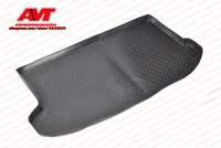 Trunk mats for Changan CS35 2013 1 pcs rubber rugs non slip rubber interior car styling accessories