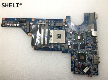 SHELI For HP  G4-1000 G4 G6 Laptop Motherboard 650199-001 DA0R13MB6E1