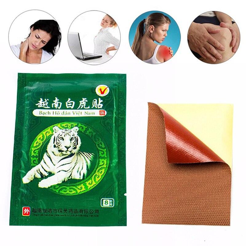 16 Pcs / 2 Bag Vietnam White Tiger Pain Relieve Plaster Patch Arthritis Cervical Balm Tiger Pain Relieve Patch Heath Care декор adex studio relieve ponciana timberline 2 5x19 8